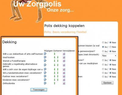 Zorgpolis check maatwerk