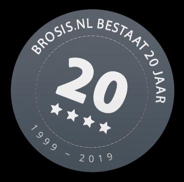 Brosis.nl bestaat 20 jaar!